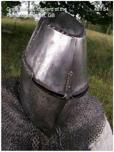 Great helm, pembrige style. Hard to beat.  Viaarmorari.com