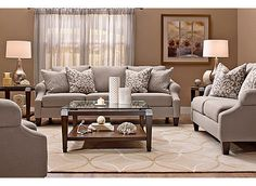 Anastasia Transitional Living Room Collection | Design Tips U0026 Ideas |  Raymour And Flanigan Furniture