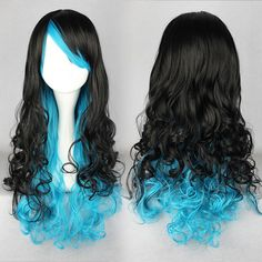"""28/"""" Rot Lang Curly Damen Lady Synthetic Volle Perücke Fashion Lace Front Gothic"""