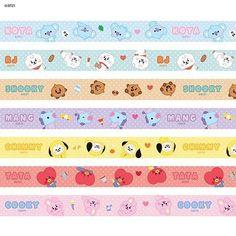 Stickers Kawaii, Pop Stickers, Printable Stickers, Journal Stickers, Scrapbook Stickers, Planner Stickers, Kpop Diy, Washi Tape Planner, Korean Stickers