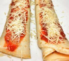 Receita #2 Panqueca de abobrinha com queijo