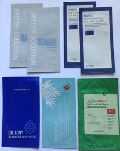 5 Different Korean Anti-Acne Blemish Patches