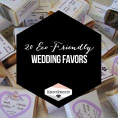 Check out these great #ecofriendly favors for your #wedding! http://knotprofit.com/blog/20-eco-friendly-wedding-favors/