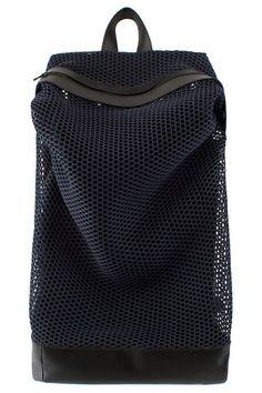 VFILES   CHRISTOPHER RAEBURN MESH ZIP-TOP RUCKSACK  luggage Mesh Backpack,  Backpack Bags ce87ef9af6