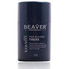 Beaver Professional Keratin Hair Building Fibers 12g (Available in 9 different colors) (Black) -- You can find out more details at the link of the image. (This is an affiliate link and I receive a commission for the sales) #PersonalCare