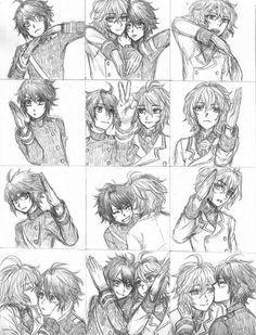 Mika and yuu yaoi owari no seraph / seraph of the end Mikayuu
