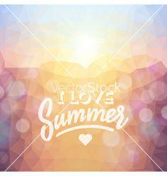 Summer tropical beach background vector. sunset by ildogesto on VectorStock®