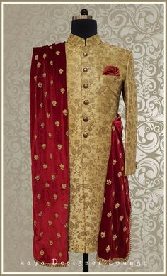 Traditional Wear Sherwani Ethnic Wear Groom Sherwani Achkan Kurta Groom Outfit Designer Wear Designer Mens Wear Designer Made Indo Western Dapper Indian Wear Indian Wedding Groom Royal Wedding Wear Bespoke Custommade Tailormade Handwork Embroidery Handmade Classy Mens Fashion Indian Mens Wear Festive Look Indowestern Groomwear Fashion Blogger kaya Designer Lounge kdl Lifestyle Sherwani For Men Wedding, Wedding Dresses Men Indian, Groom Wedding Dress, Sherwani Groom, Wedding Dresses For Kids, Wedding Suits, Trendy Wedding, Mens Wedding Wear Indian, Marriage Dress For Men