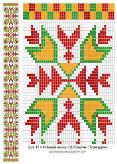 free-beading-pattern-sash-woodland-transparent-beads
