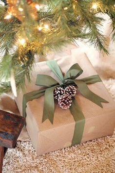 Quick and Easy Whimsical Holiday Wrapping Idea 8