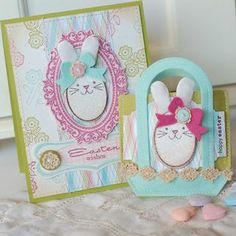 Super cute Easter goodie bag and card