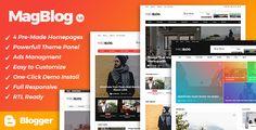 MagBlog - News & Editorial Magazine Blogger Theme