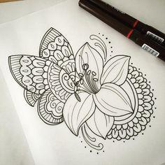 A little pretty something for next week #tattoo #tattoodesign #tattooart #design #drawing #art #ink #penandink #handdrawn #mehndi #domholmestattoo #theblacklotusstudio
