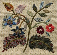 JANE'S THREADS AND TREASURES, Caswell quilt pattern by Corliss Searcey