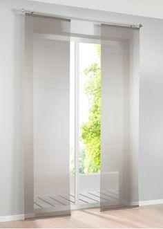 moderne wei graue schiebegardine f rs wohnzimmer mit gro stadtmotiven. Black Bedroom Furniture Sets. Home Design Ideas