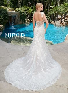 """""""Felicity"""" from Kitty Chen Couture collection"""