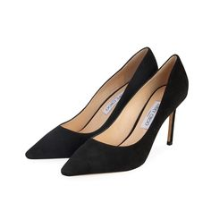 This pair of  gorgeous Jimmy Choo pumps stands to define the beauty of shoes.  ITEM CONDITION: Pre-owned – New.  SUPPLIED WITH: These shoes are supplied with their original Jimmy Choo dust bag.  SIZE: 40 – (UK size 6.5)  THE LEFT SHOE: New.  THE RIGHT SHOE: New. Black Suede Pumps, Black Flats, Women's Shoes Sandals, Heels, Shoes 2014, Charlotte Olympia, Ankle Straps, Manolo Blahnik, Giorgio Armani