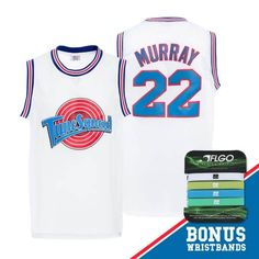 Space Jam Movie Basketball Jerseys Tune Squad Team All Players Vintage Throwback