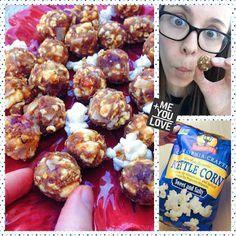 Chewy Pumpkin Popcorn Balls (Gluten free, Vegan) + GIVEAWAY