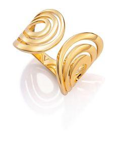 f0c59ec30e67 Anillo Viceroy Fashion dorado y semiajustable Moda Online