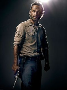 Andrew Lincoln as Rick Grimes #TheWalkingDead season 4 2013 promo photo