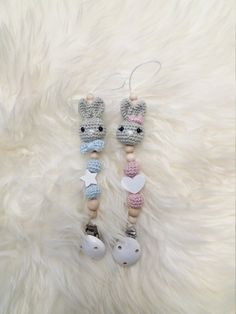 In loving handmade crocheted pacifier with small bunny head. Price refers to a pacifier necklace, in pink or light blue. The crochet heads as well as the crochet balls are filled with eco Tex. Crochet Baby, Aurora, Shops, Beaded Bracelets, Babies, Etsy Shop, Handmade, Jewelry, Toys