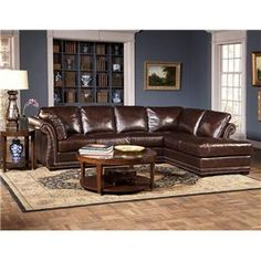 Leather Italia Sectional/Chaise available now at great prices!