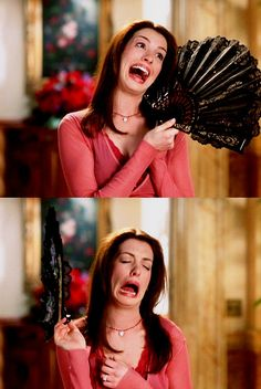 Princess Diaries 2 Haha I loved this scene. Ann Hathaway is just so amazing. (:
