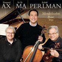 Yo-Yo Ma, Itzhak Perlman, and Emanuel Ax-all past performers of Tuesday Musical.  http://www.tuesdaymusical.org