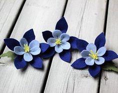 Felt Flowers Pattern – Free Pattern and Tutorial – Rebecca Page Handmade Flowers, Diy Flowers, Fabric Flowers, Paper Flowers, Ribbon Flower, Ribbon Hair, Hair Bows, Felt Crafts Diy, Felt Diy