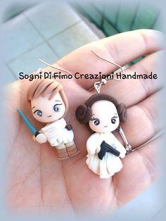 Princess Leila and Luke Skywolker by SogniDiFimoCReazioni on deviantART