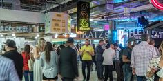 DeKalb Market Hall - new and named as the best of the food halls with > 40 vendors