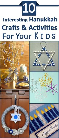 Top 10 Interesting Hanukkah Crafts & Activities For Your Kids