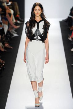 BCBG Max Azria's leather harness for Spring 2013