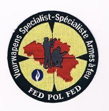 BELGIUM POLICE WEAPONS SPECIALIST TEAM POLICIA