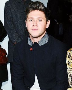 Niall today at a fashion show 7 jan 2017