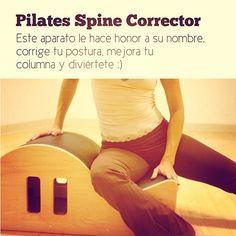 """@inspirahpilates's photo: """"El #Pilates Spine Corrector le hace honor a su nombre. Conócelo, corrige tu postura, mejora tu columna y diviértete #PilatesTips :)"""""""