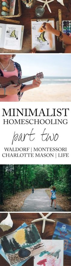 I wrote recently about how we've moved more towards a more minimalist style of homeschooling… but there have been major changes. I would say that we are much more on the minimalist side…