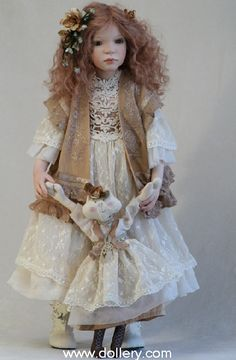 Zofia Zawieruszynski Collectible Dolls - Evelina