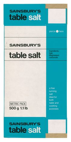 Modernist-inspired work produced by the Sainsbury's Design Studio between 1962 and 1977