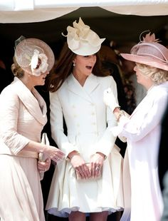 Camilla and Sophie succumb to the Kate effect