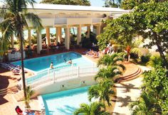 Amaryllis Resort Barbados- This all-inclusive has 500 feet of white sandy beach and is set on 5.5 acres of paradise.