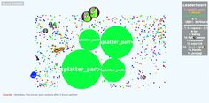 splatter_partч agario private server 145687 mass score - Player: splatter_partч / Score: 1456870 - splatter_partч saved mass 145687 score game screenshot in user splatter_partч agario game score screenshot