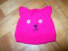 Circular Knitted Soft Cotton Baby Hat