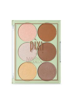 Pixi   Maryam Maquillage Glow & Bronze Palette, $20, available at Pixi Beauty. #refinery29 http://www.refinery29.com/2017/01/135939/pixi-by-petra-beauty-influencers-collaborations#slide-5