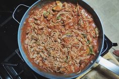 mango island mamma brown rice spaghetti with homemade tomato sauce
