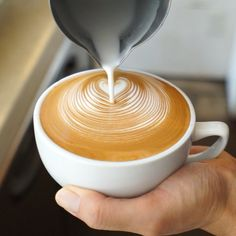Latte Art - the art of pouring a perfect latte