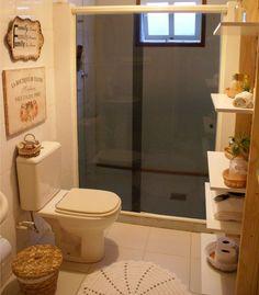 Decorando o meu banheiro de madeira | Arrumadíssimo
