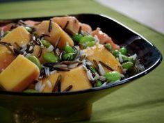 Papaya and Soybean Salad : Recipes #AmericasFarmers
