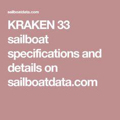 KRAKEN 33 sailboat specifications and details on sailboatdata.com